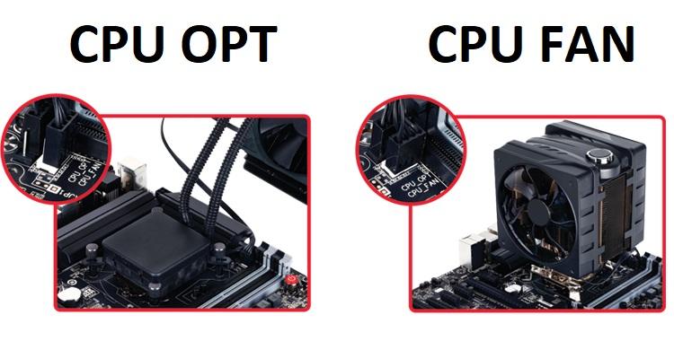 CPU OPT vs CPU FAN